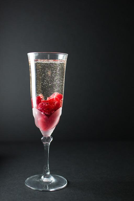 Cranberry Prosecco Fizz