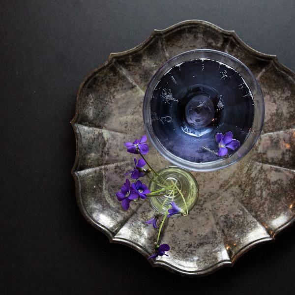 Crème de Violette Cocktail | A Violette Royale