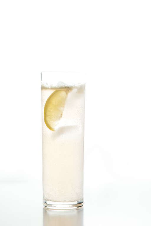 Dry Tequila Fizz using Sparkling Dry Ginger