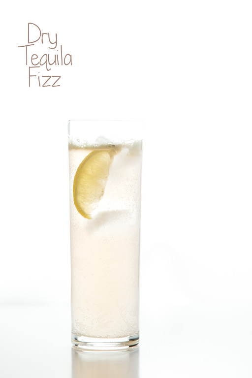 Dry Tequila Fizz - so delicious and easy with Dry Sparkling Ginger Soda!