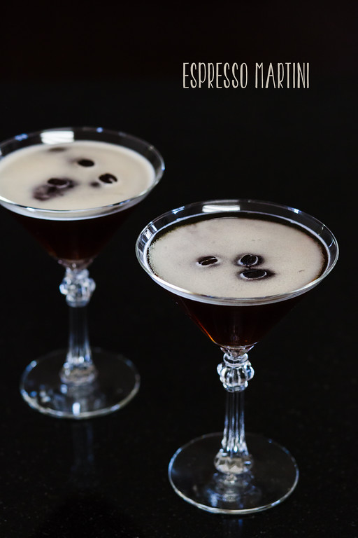 Espresso Martini turns coffee and vodka into the perfect after dinner drink!