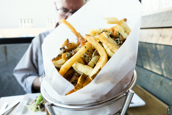 Garlic Fries at The Flying Squirrel | Grey is the New Black