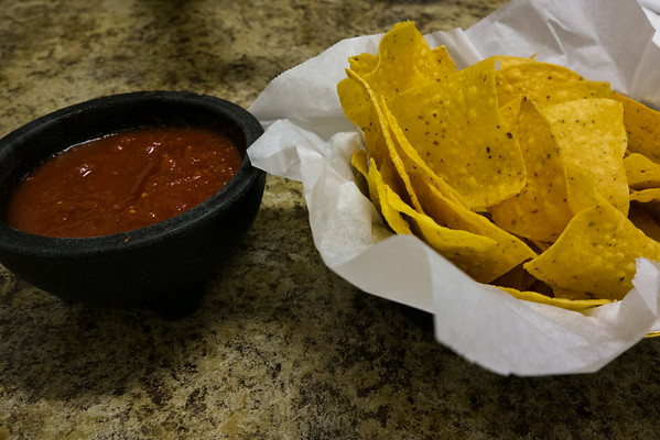Chips and Salsa from El Metate | Grey is the New Black