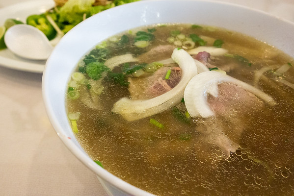 Eye Round Beef Noodle Soup from Dao Tien Bistro