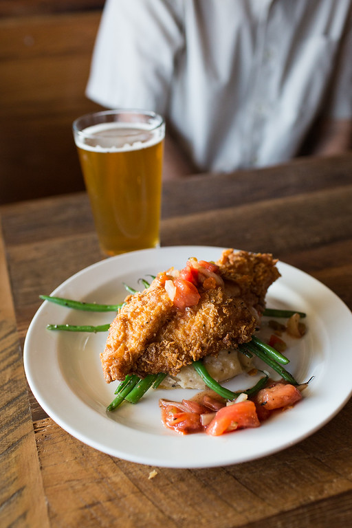 Catfish with Smoked Tomato Relish | The Feed Co. Table & Tavern