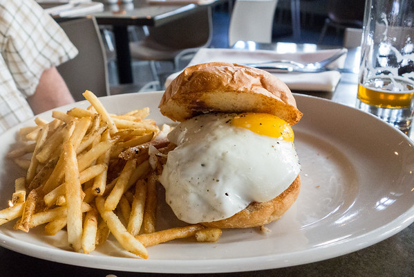 The Block | The Block Burger with Fried Egg