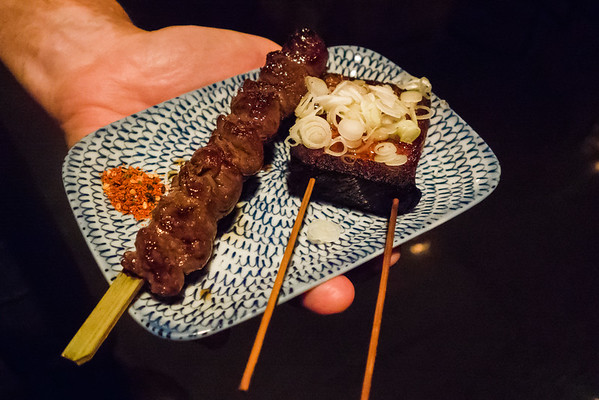 Yakitori - Pork Belly and Skirt Steak | Two Ten Jack | Chattanooga TN