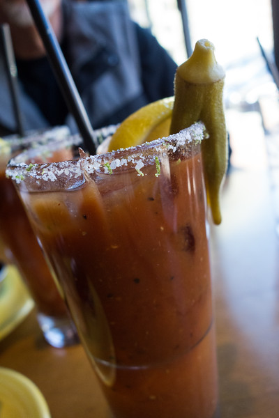 Tupelo Honey Scratch Made Bloody Mary