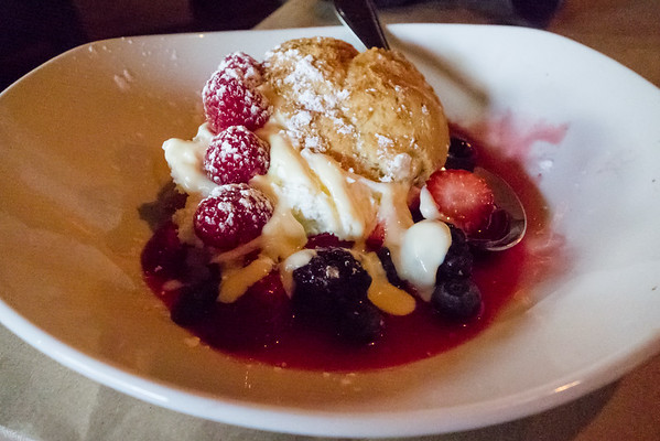 Berry Seasonal Shortcake Bonefish Grill