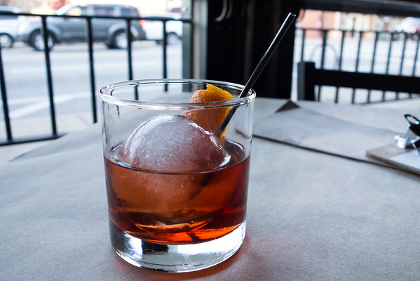 Negroni from Beast and Barrel | Dining out in Chattanooga