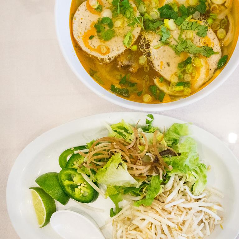 Dao Tien Bistro Pho Tai Eye Round Beef Noodle Soup