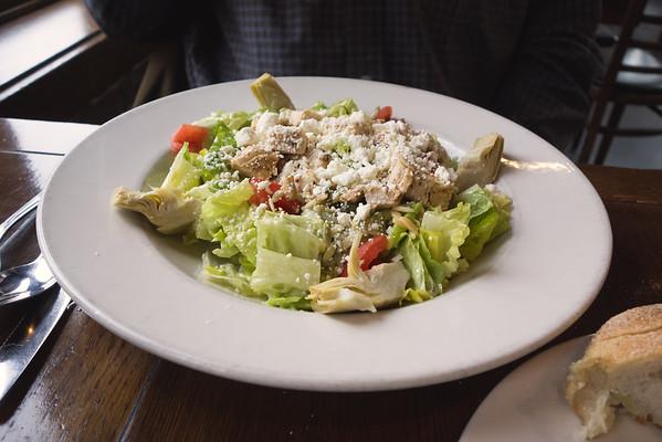 Sicilian Salad at Tony's Pasta Shop Chattanooga TN