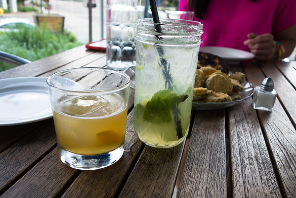 Drinks from The Public House in Chattanooga