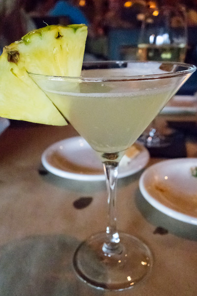 Fresh Pineapple Martini