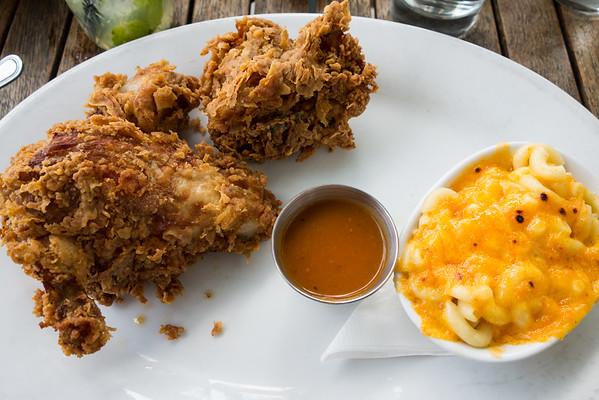 Fried Chicken and Mac and Cheese from The Public House in Chattanooga