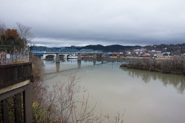 View from Tony's Pasta Shop Chattanooga TN