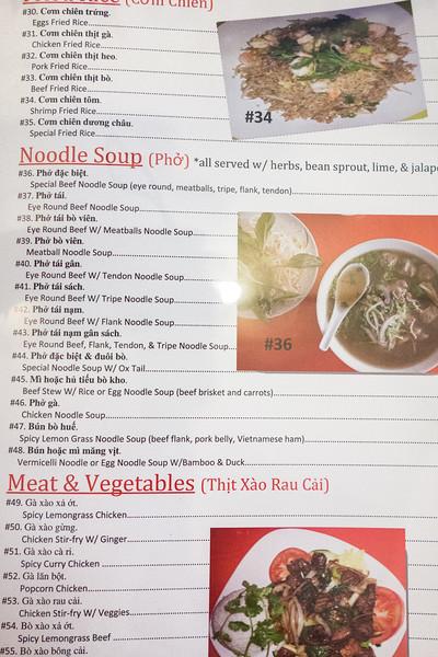 Menu for Dao Tien Bistro