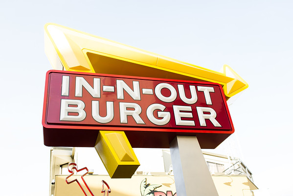 In-n-out Burger at Fisherman's Wharf