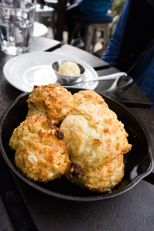 Free Cheddar Biscuits at the Farmstead
