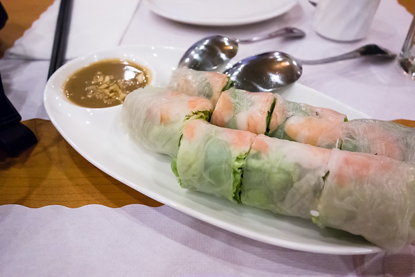 Summer Rolls at Begroni Bistro.