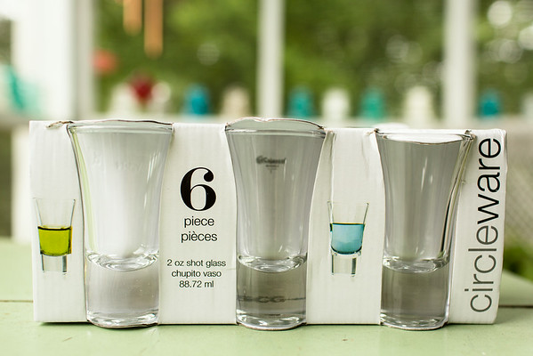 Circleware Shot Glasses | Grey is the New Black