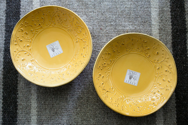Yellow Italy Bowls | #homegoodshappy | Grey is the New Black