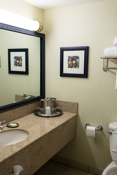 Bathroom at Sand Castle Inn in Pismo Beach California