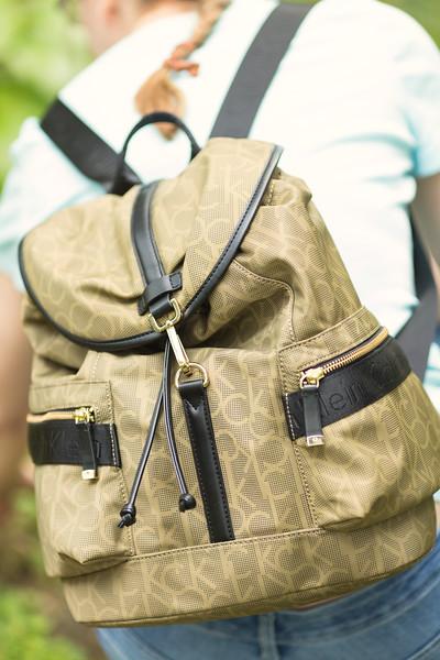 e4631333297 Calvin Klein Talia Dressy Backpack #Fashionista - Grey is the New Black