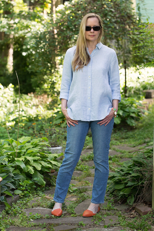 J. Jill Linen Big Shirt - I live in these during the summer!
