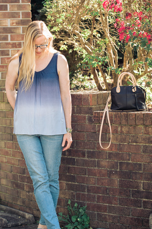 Sonoma Ombre Crinkle Tank