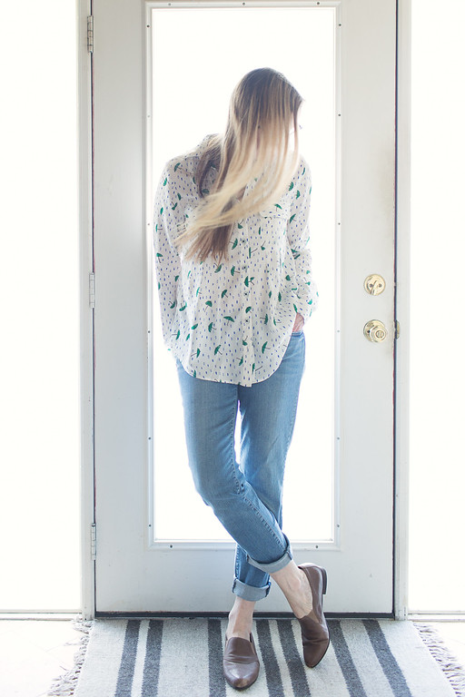 Asheville Button Down Maeve Shirt from Anthropologie