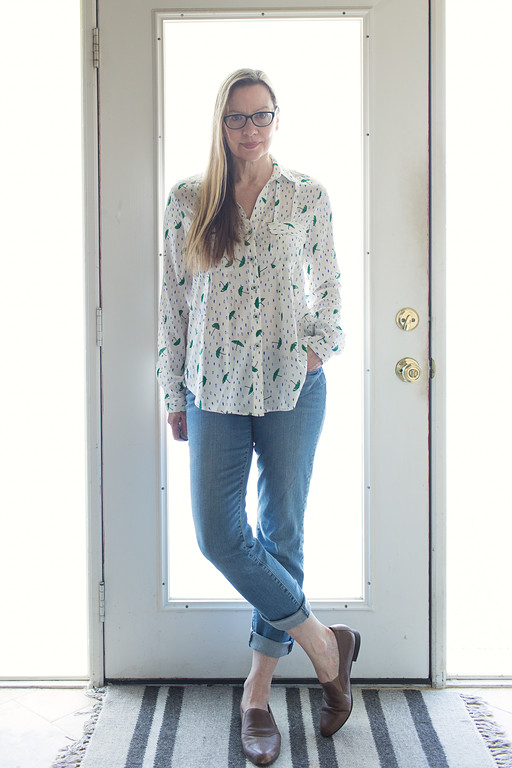 Maeve Asheville Button Down from Anthropologie