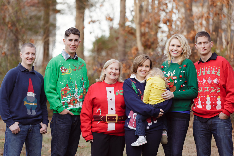Chattanooga Family Portrait Session ~Some Tacky Christmas Sweaters ...