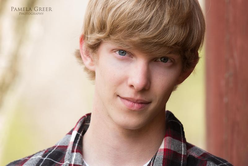 Pamela Greer Photography Senior Boy
