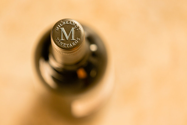 Millbrandt Vineyards bottle cap
